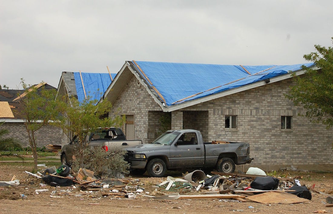 Insurance Claim on Tornado Damage in Texas