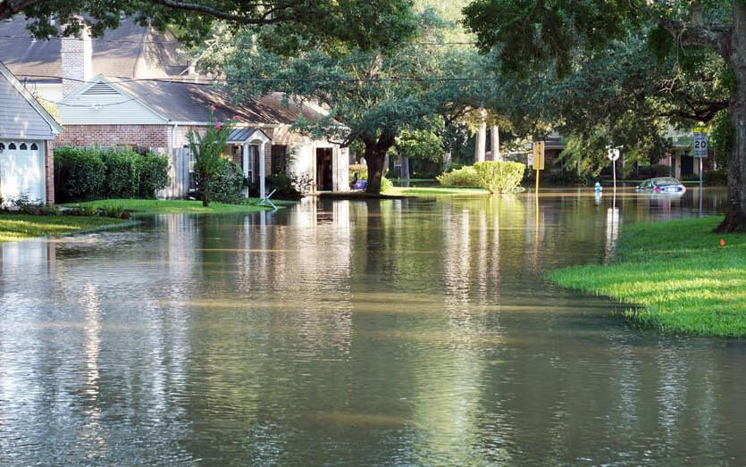 Hurricane Flood Damage