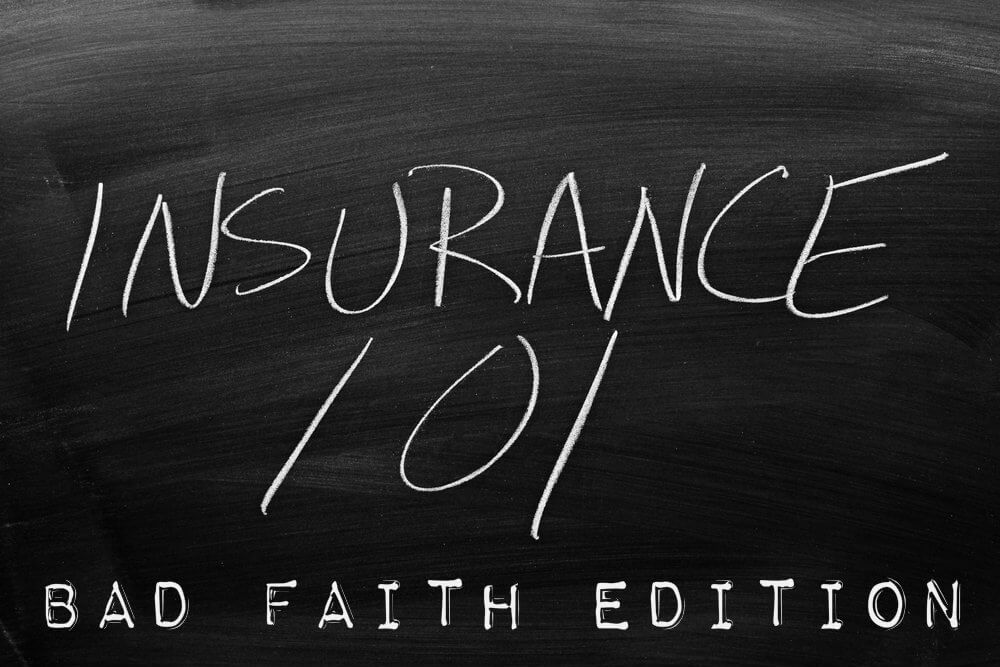 Bad Faith Insurance Class Edition