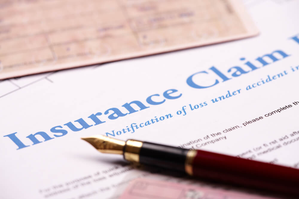 Insurance Claim Notification of Loss
