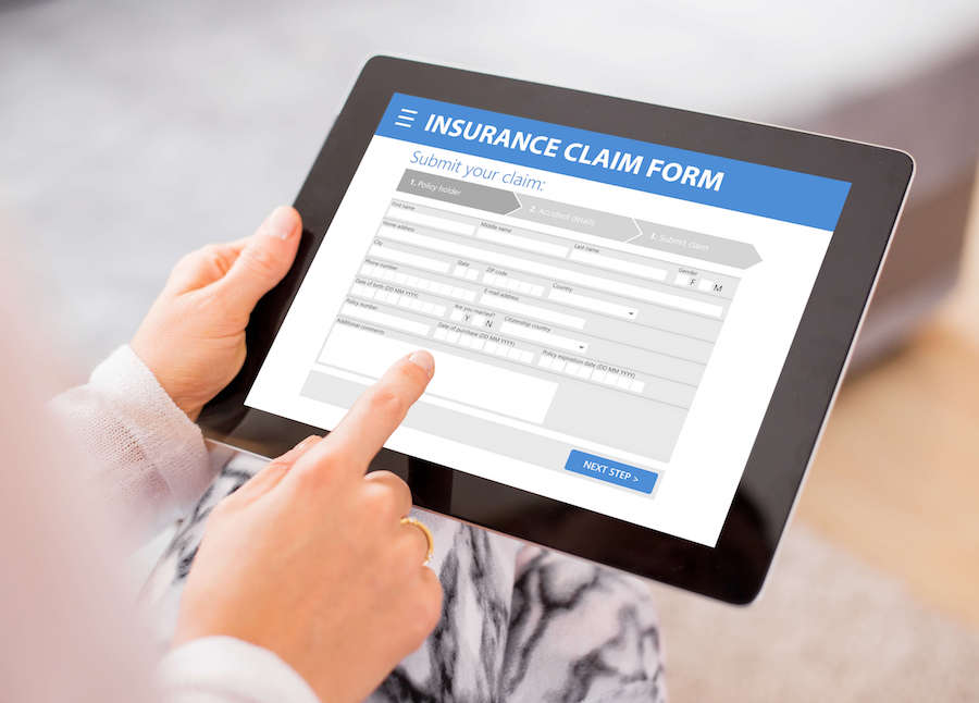 Filing Insurance Claim Form