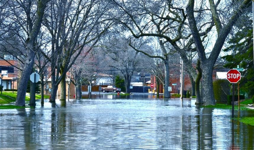 Neighborhood Flooding Damage