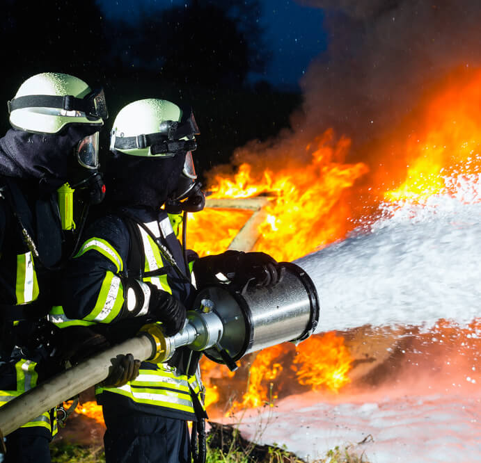Fighting Fire With Foam